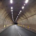 Una nuova illuminazione per la galleria sulla 131 dcn tra Posada e Budoni