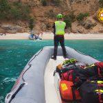 Escursionista si infortuna sul sentiero per Cala Biriala: soccorsa con l'elicottero