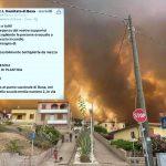 Bosa, la risposta dei cittadini alla richiesta di aiuto della Croce Rossa nella notte degli incendi