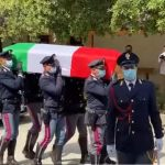 Tanta commozione a Orosei ai funerali di Marino Terrezza, l'agente morto sulla 131 Dcn