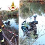 Incidente a Orosei, un'auto con 5 ragazzi finisce in un canale