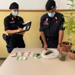 Trovato in casa con marijuana e 27mila euro in contanti: arrestato a Lanusei