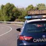 Provoca un incidente a Bari Sardo sotto l'effetto di stupefacenti, denunciato