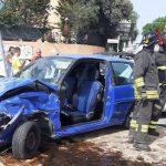 Violento incidente a Posada, una ragazza estratta dai Vigili del fuoco